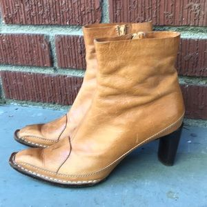 Costume National Ankle Zip Up Booties